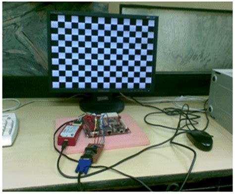 pattern generator using verilog configurable vesa vga and dvi test pattern generator