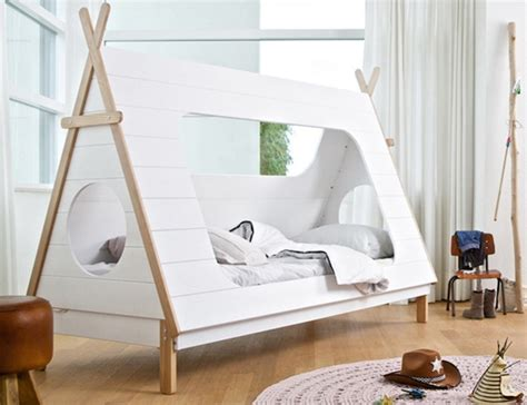 57 bed tent room in room a cozy bed tent bonjourlife active woood s teepee tent bed offers a cozy way to bring your
