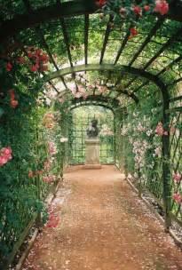 Trellis In The Garden Garden Inspiration Earth Wallpaper