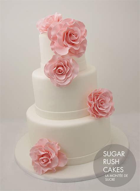 pink rose wedding
