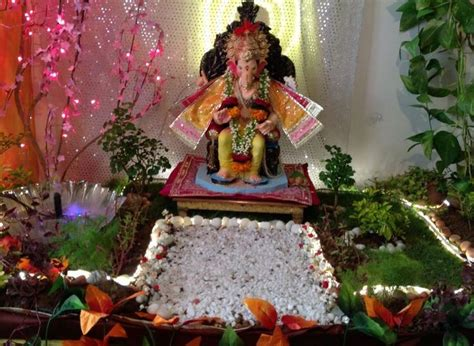 decoration for ganesh festival at home 186 best ganpati decoration ideas images on pinterest