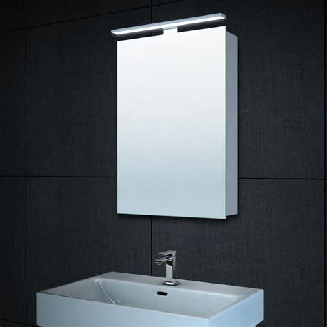 spiegelschrank 40x60 alu spiegelschrank beleuchtet badezimmer badspiegel mit