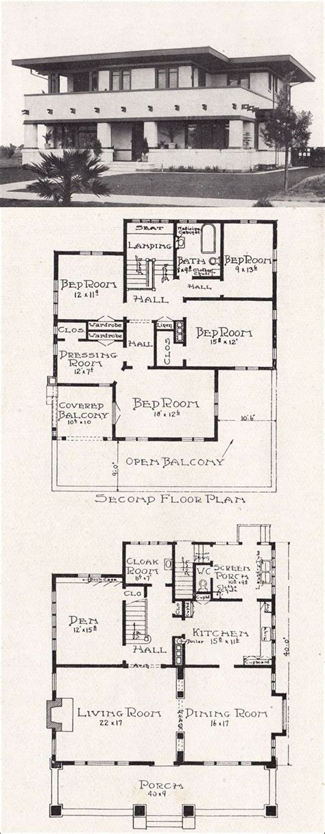 arts and crafts floor plans arts and crafts home floor plan impressive cottage house