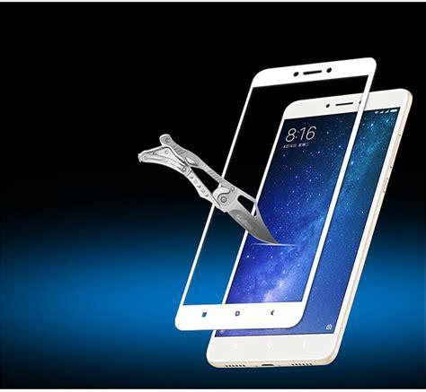 Xiaomi Mi Max 2 Cover Tempered Glass Colour Warna Hitam xiaomi mi max 2 cover tempered glass screen protector