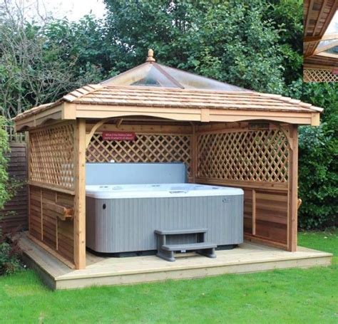 gazebo ideas for tubs pergola gazebo design ideas