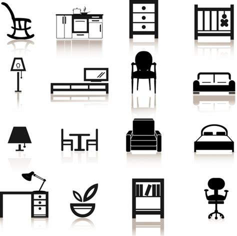 free office furniture office furniture icons free vector 100 510 free