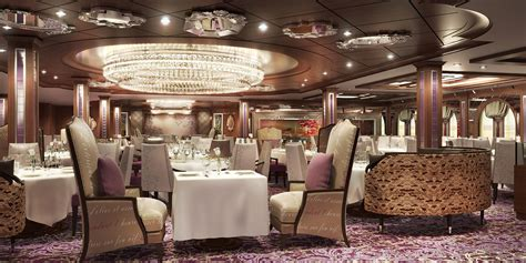 id馥s r駭ovation cuisine the grande restaurant anthem of the seas royal caribbean