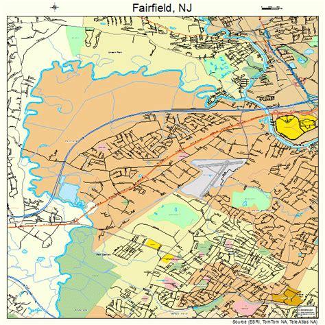 Fairfield Nj fairfield new jersey map 3422380