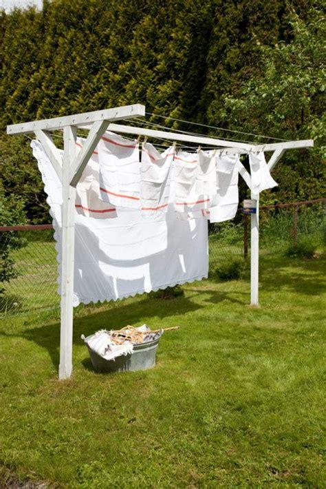 backyard clothesline summer clothes line and backyards on pinterest