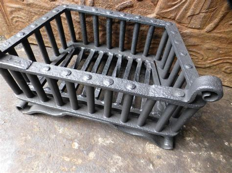 small fireplace grate small 18th century wrought iron fireplace grate