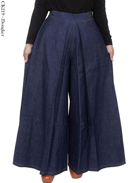 Celana Jumbo Wanita Denim Panjang Pen jual celana panjang muslimah celana kulot jumbo jumbo arindashoponline di