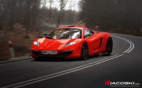 mclaren to show p12 supercar concept in autoevolution