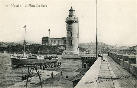 Marseille Ville Phare D 233 Carte Postale Ancienne De Marseille Le Phare Sainte