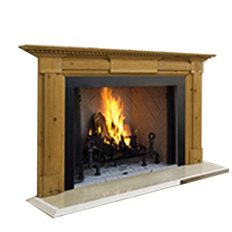 Fireplace Panels by Ihp Superior Wrt4550wh 50 Quot Wood Fireplace Panels