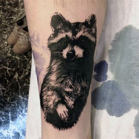 raccoon tattoo designs 80 raccoon designs for critter ink ideas