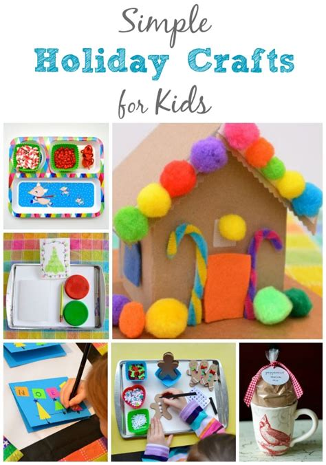 Crafts For Holidays - simple holiday crafts for kids inner child fun