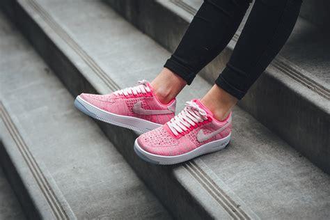 Set Pink Nike 1 prism pink lands on the nike air 1 ultra flyknit low kicksonfire