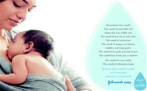 Promo Johnsons Baby Soap johnson johnson infuses newspaper ink with a baby powder
