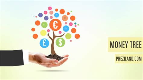 prezi business templates money tree
