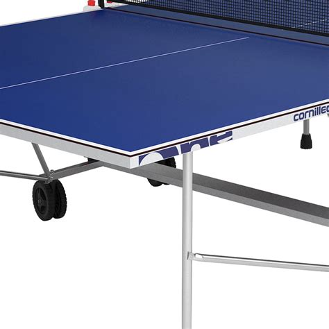 cornilleau sport one outdoor table tennis table cornilleau outdoor sport one rollaway table tennis table