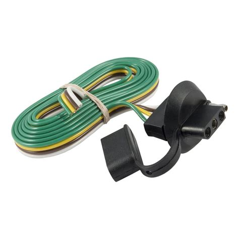 4 flat car to 4 flat trailer trailer wire connector