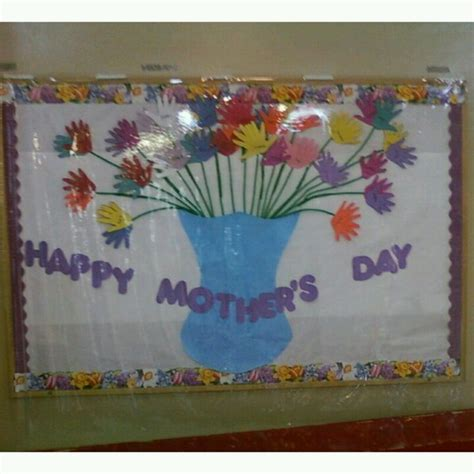 Church Decorating Ideas Flowers Are Children S Hands Mother S Day Bulletin Board