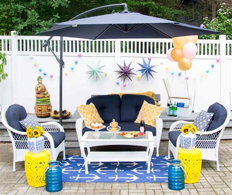 Backyard Bbq Dress Up Outdoor Space Reveal Dressup
