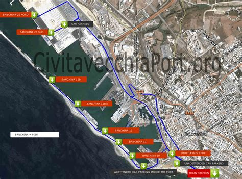 port of civitavecchia how to get civitavecchia port from rome and from airport