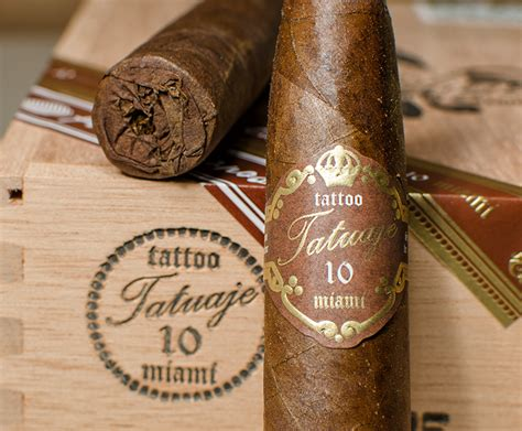 tattoo cigars tatuaje unicos 10th commerative box of 25