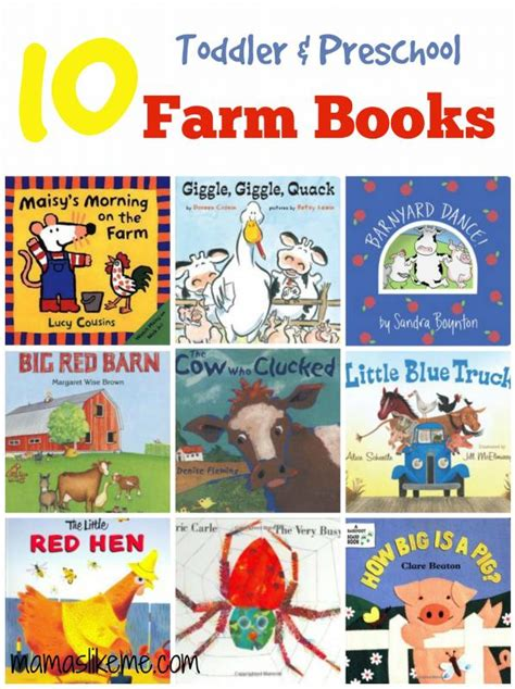 picture books for kindergarten 10 farm books for toddlers preschoolers great for a