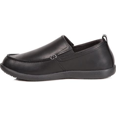 work shoes slip resistant comfortable crocs tummler slip resistant slip on work shoe 12935001
