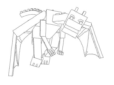 coloring pages of ender dragon enderdragon minecraft by staffyolsson on deviantart