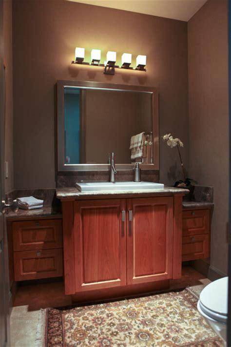 powder room vanity powder bath vanity contemporary powder room salt lake city by glenn interior design