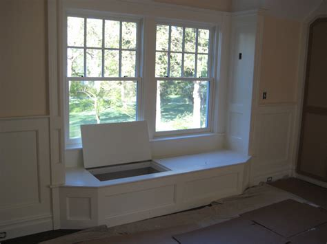 Window Bench Seats With Storage - window seat peck built