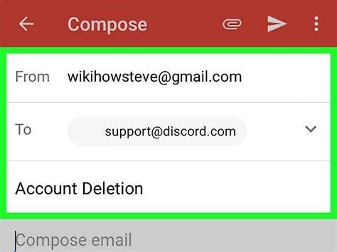 discord delete account come cancellare un account discord su android wikihow