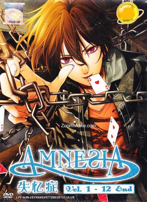 Anime One Manusia Karet 16 Dvd Subtitle Indonesia amnesia dvd japanese anime 2013 episode 1 12 end subtitled