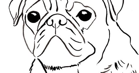 pug coloring pages printable pug coloring pages