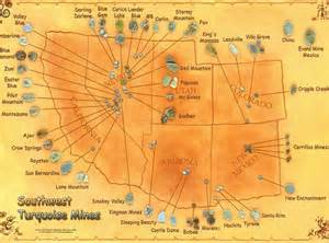 arizona turquoise mines map co southwest turquoise mines map flickr photo