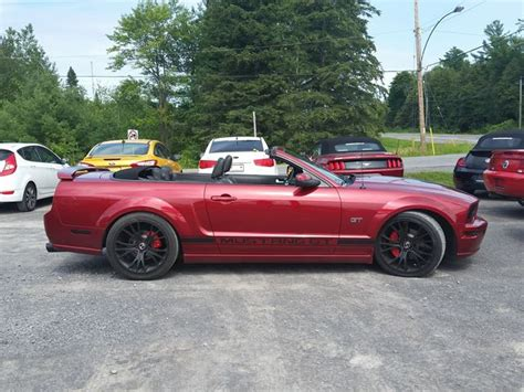 used mustang wheels for sale used 2007 ford mustang 4 60 gt rockland wheels ca