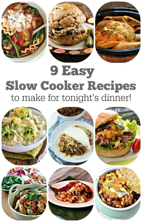 9 easy slow cooker recipes to make for tonight s dinner