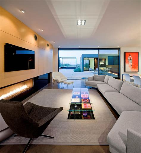 living room platform desert house with awesome viewing veranda next to pool