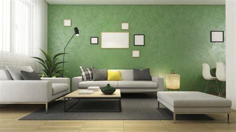 interior rumah  skema warna olive penerapan hijau