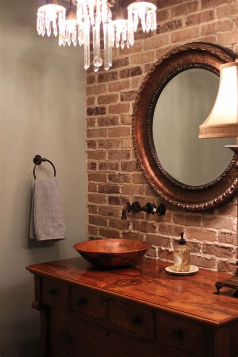 brick bathroom wall 30 trendy brick accent wall ideas for every room digsdigs