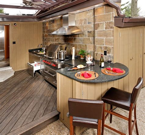 Patio Kitchen Design Upgrade Your Backyard With An Outdoor Kitchen