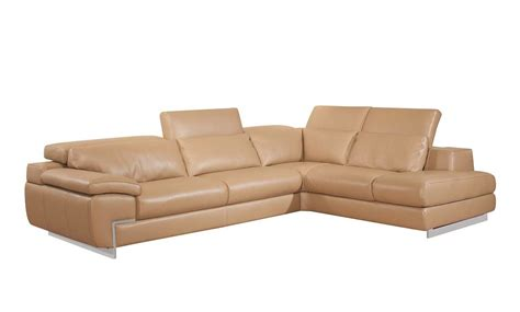 Top Leather Sectionals by Top Grain Leather Mouton Sectional Sofa Zena Leather