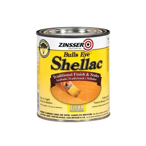 shellac woodworking zinsser 1 qt clear shellac traditional finish and sealer