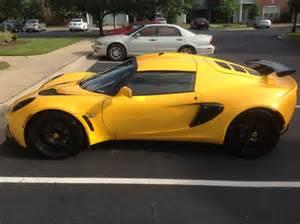Yellow Lotus Exige Lotus Exige Yellow