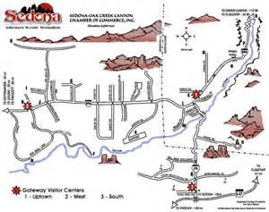 sedona arizona map sedona arizona maps directions for tourists and visitors