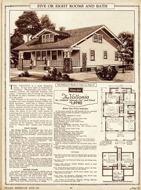aladdin homes floor plans luxury sears bungalow plans and sears catalog home from the 1925 sears modern homes