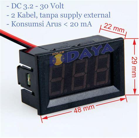 Voltmeter Digital Mini jual mini digital voltmeter voltmeter digital rumah